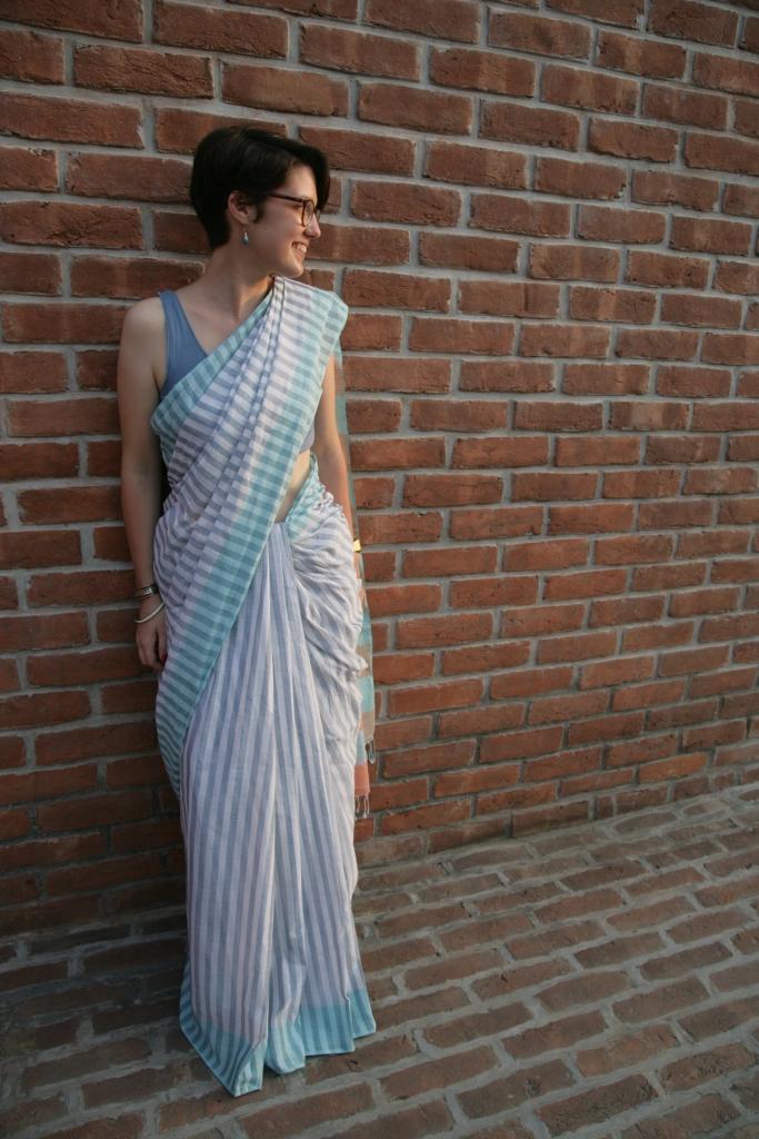 Photo pour promouvoir les sari Friendship, Gaibandha, Nord du Bangladesh